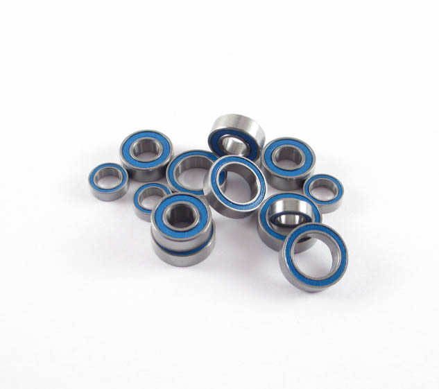 SCX10/AX10/Wraith/Yeti Rear Axle Bearing Kit: LURC Rubber